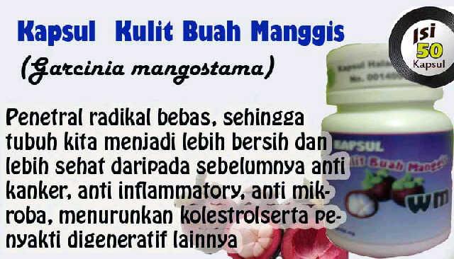 kapsul kulit buah manggis