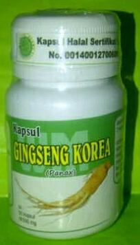 gingseng korea kapsul