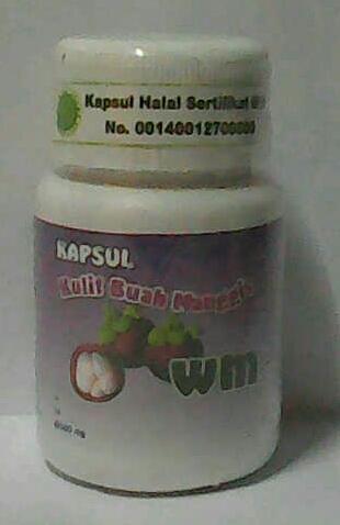 kulit buah manggis kapsul