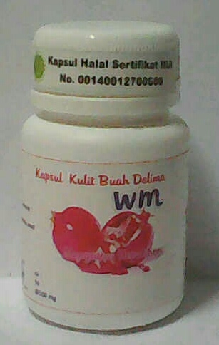 kulit buah delima