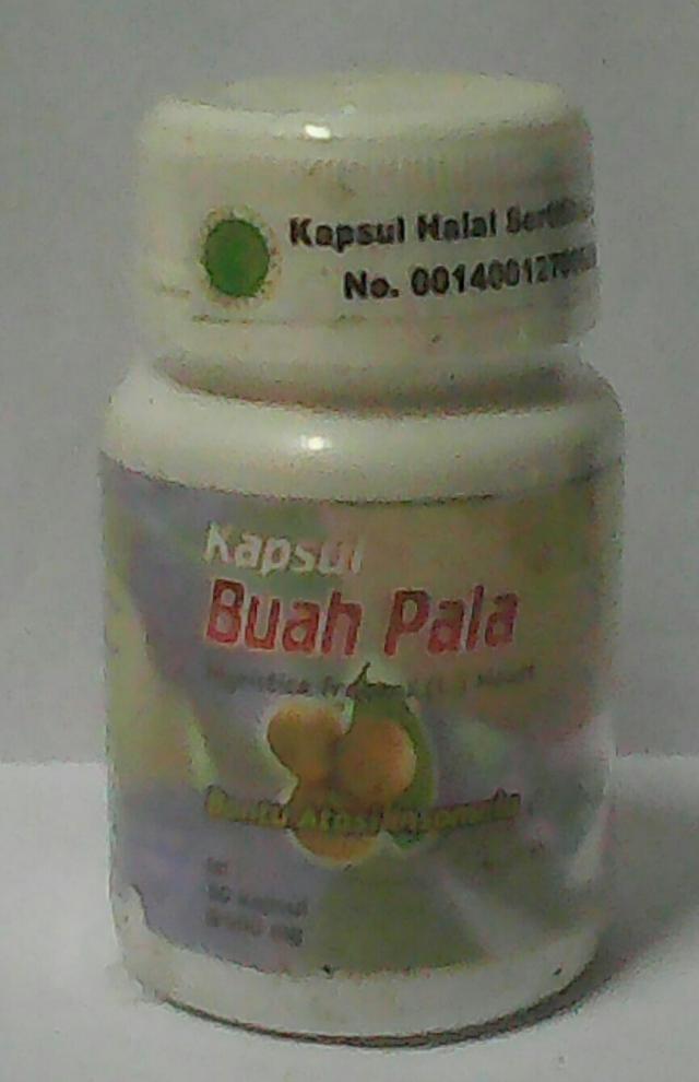 buah pala kapsul