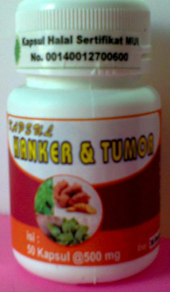kapsul kanker dan tumor