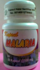 kapsul malaria